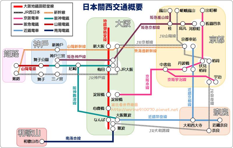 日本關西京阪神交通