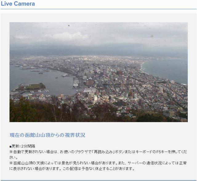函館山即時影像