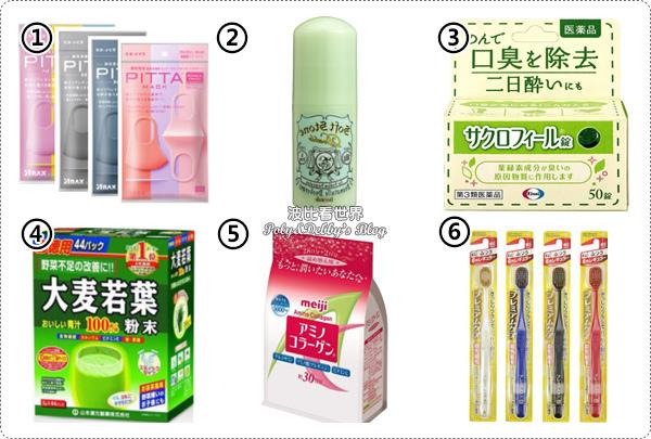日本藥妝綜合類