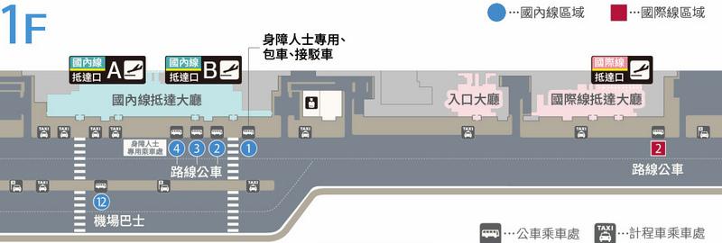 機場巴士地圖