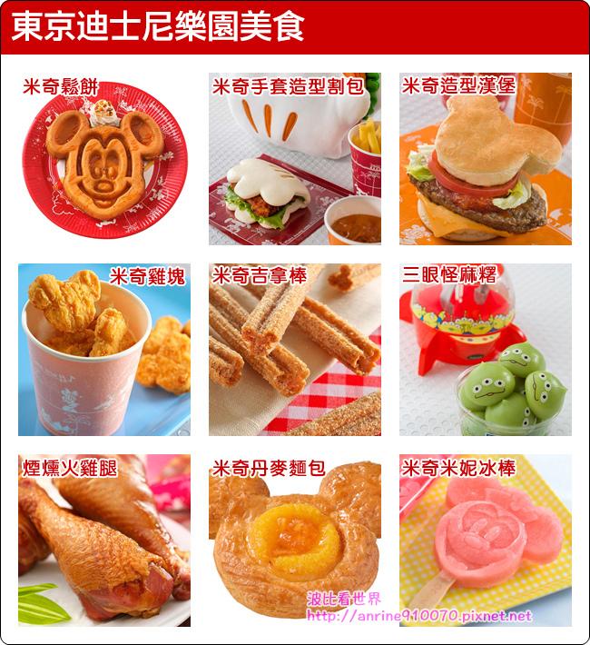 東京迪士尼樂園美食