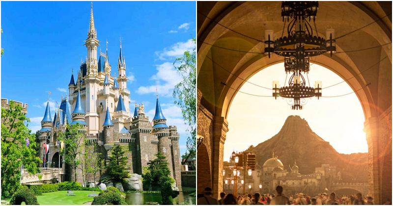 東京迪士尼樂園海洋比較