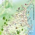 YiLan travel-map