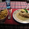 主菜 - Le coquelet au Riesling - Spatzle maison