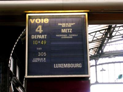 To Metz