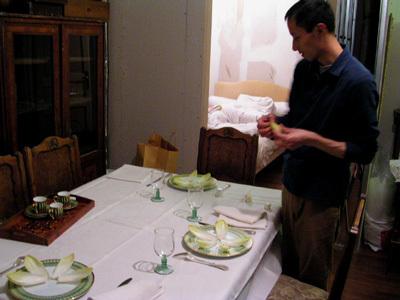 孫先生做晚餐