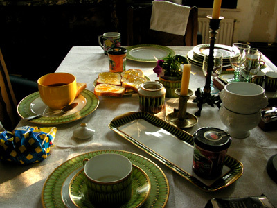 第一天早餐