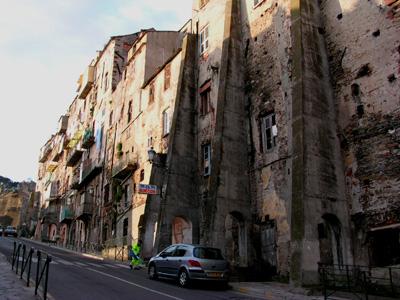 Bastia的舊城區
