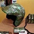 貝殼做的安全帽