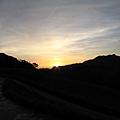 赤科山的日出