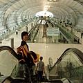 曼谷新機場一隅。