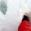 積雪有多深?!