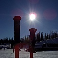 我想學滑雪!!