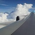 華航 - 硬是要在飛機上拍一張