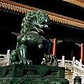 紫禁城 - 太和門前的石獅子
