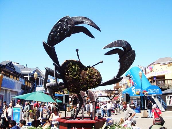 漁人碼頭的螃蟹(?)吧