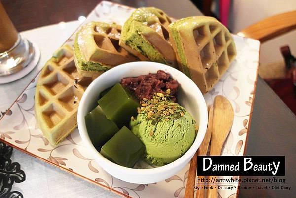明森宇治抹茶日本咖啡專賣店抹茶冰淇淋鬆餅歐雷紅茶拿鐵台中甜點推薦10