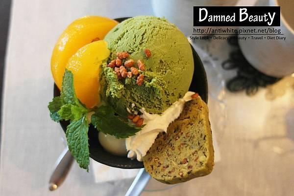明森宇治抹茶日本咖啡專賣店抹茶冰淇淋鬆餅歐雷紅茶拿鐵台中甜點推薦20