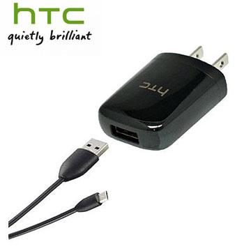 HTC原廠旅充 + 傳輸線2