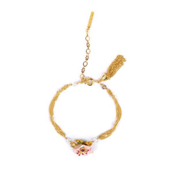 bracelet-petite-anemone-grise-et-perles-en-verre-taille