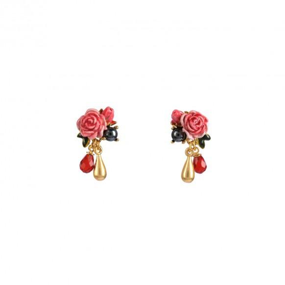 boucles-doreille-petites-roses-et-perle-deau-douce
