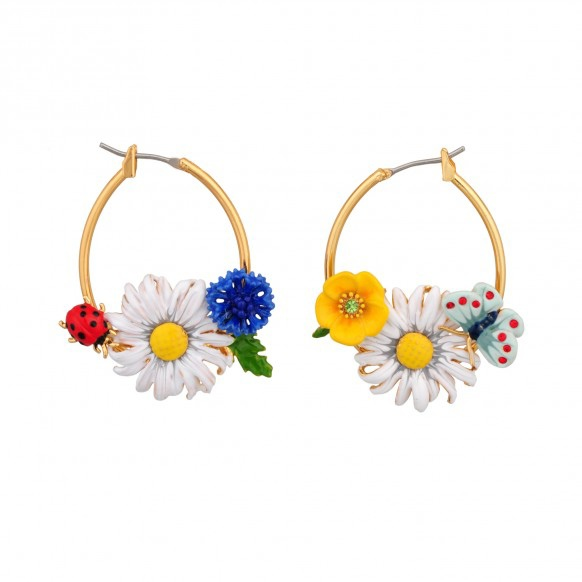 les-nereides-paris-jewelry-champetre-hoop-earrings-flowers-and-ladybug