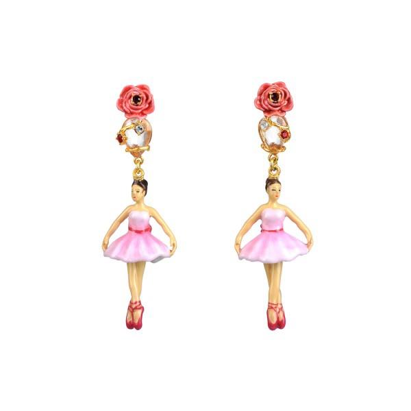 boucles-d-oreilles-ballerine-sur-pointes-rose-et-pierre-taillee