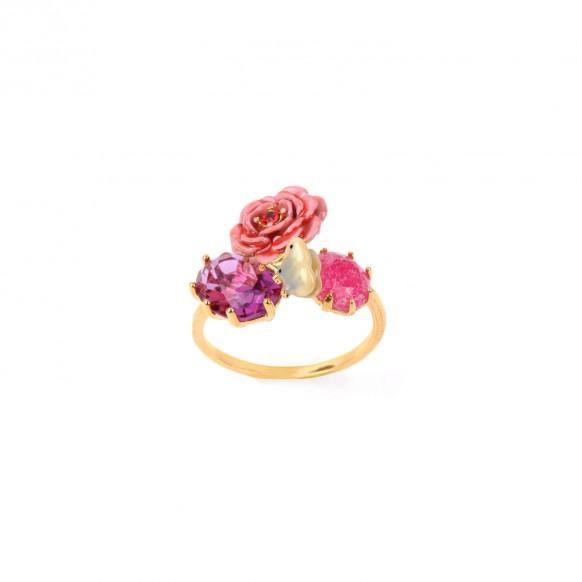 bague-rose-papillon-et-verre-taille