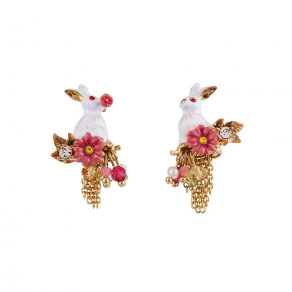 boucles-d-oreilles-lapin-fleurs-et-cascade-de-chaines