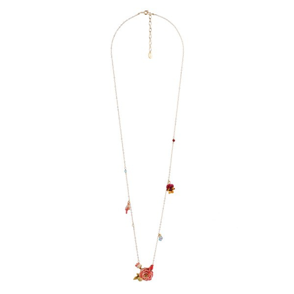 cardinal-on-a-bloomed-rose-and-charms-long-necklace (1)