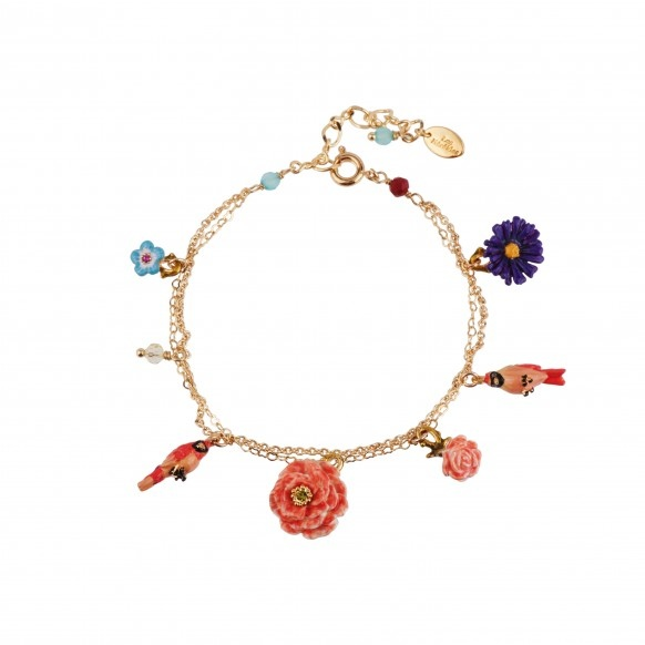 birds-flowers-and-charms-multi-chains-bracelet