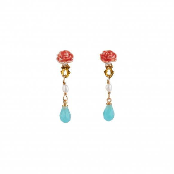 little-rose-and-blue-drop-clip-earrings