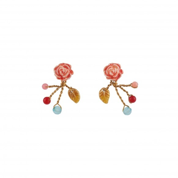 little-rose-and-beads-earrings