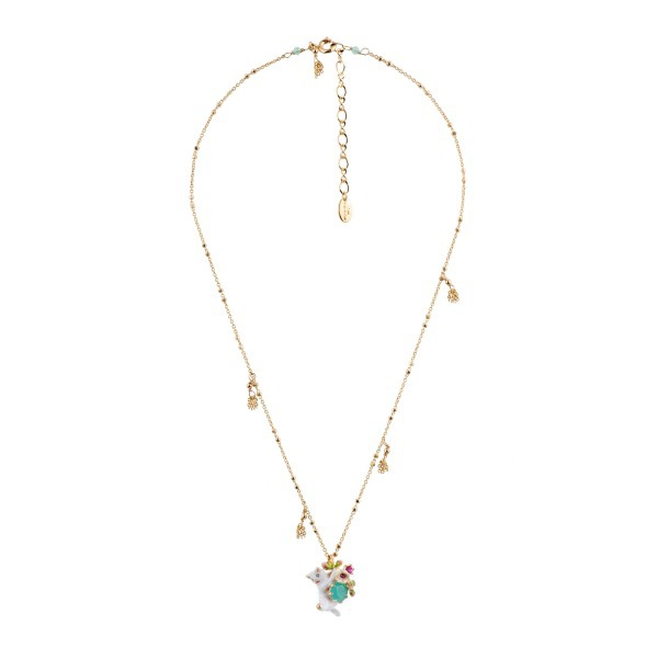 cat-grabbing-flowers-blue-stone-and-charms-necklace (1)