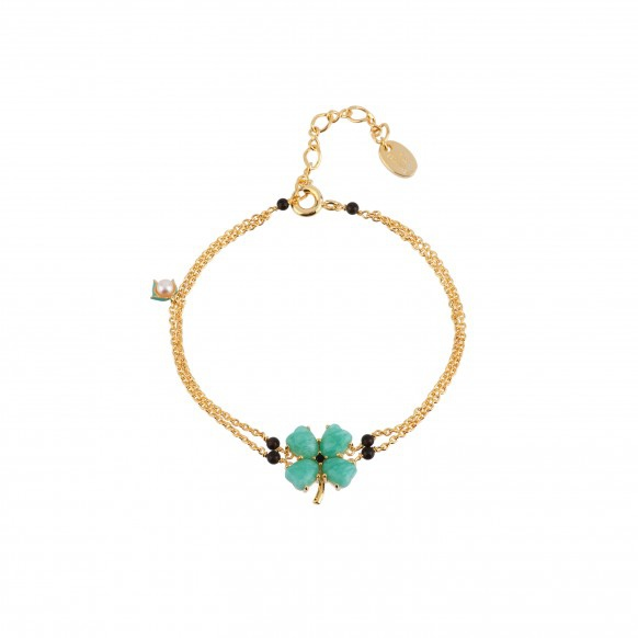 four-leaf-clover-multi-chains-bracelet