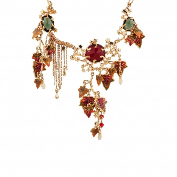bunch-of-autumn-s-leaves-and-faceted-glass-couture-necklace (1)