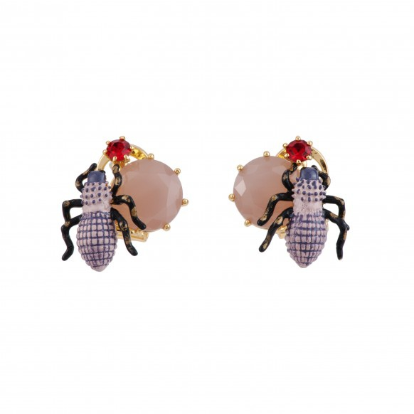 goliath-beetle-on-dark-purple-stone-earrings