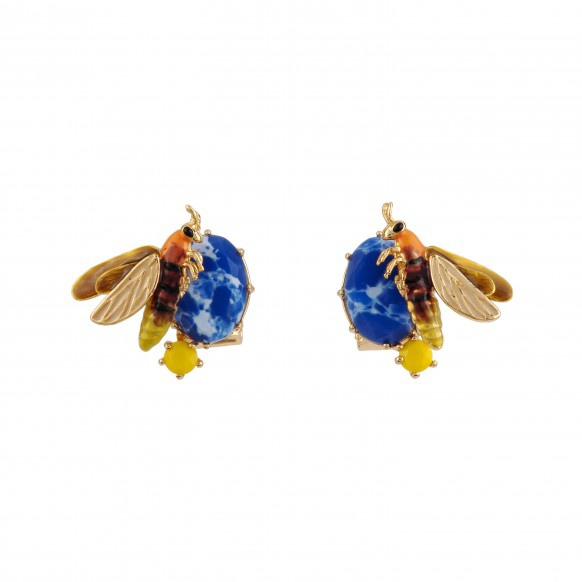 firefly-on-marbled-blue-stone-earrings