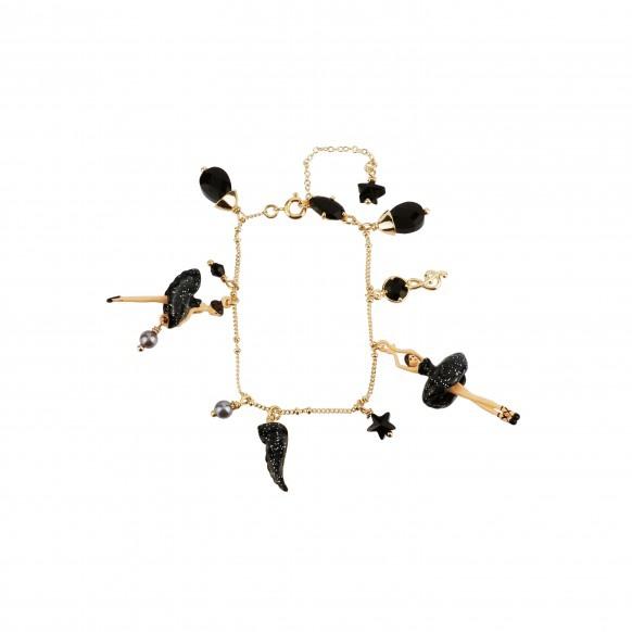black-glittered-ballerina-bracelet