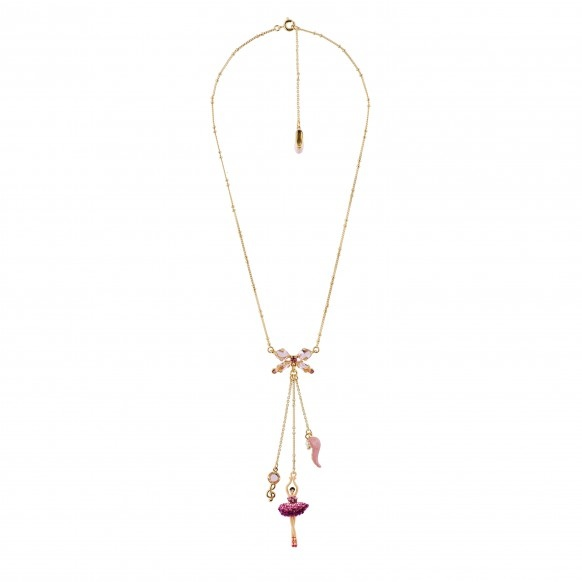 ballerina-paved-with-raspberry-crystals-and-treble-clef-necklace