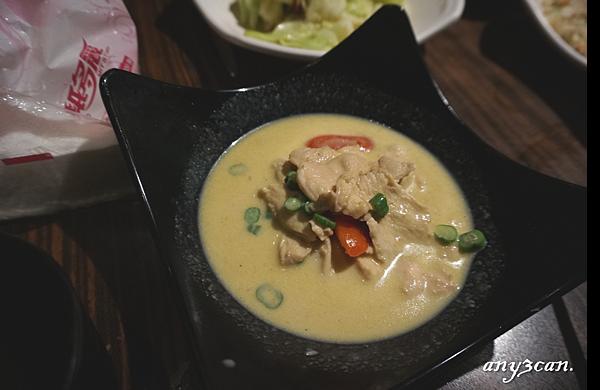 綠咖哩椰子雞