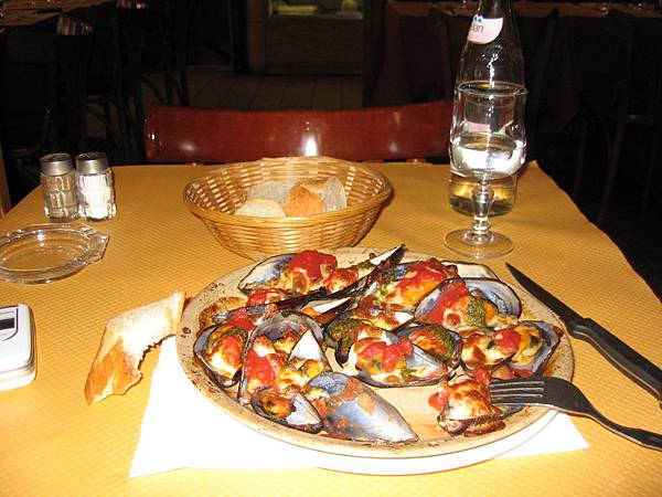 巴黎的第一餐