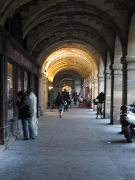 瑪黑區的著名迴廊