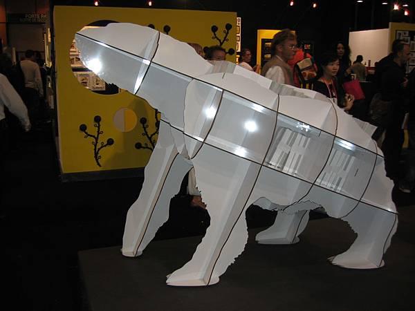 北極熊書櫃