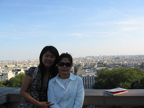 巴黎全景到此一遊