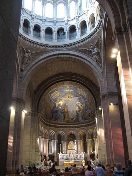 聖心堂內部