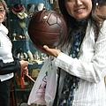 超漂亮的古董球
