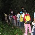 孩子們的自然課(坪頂古道夜間觀察)