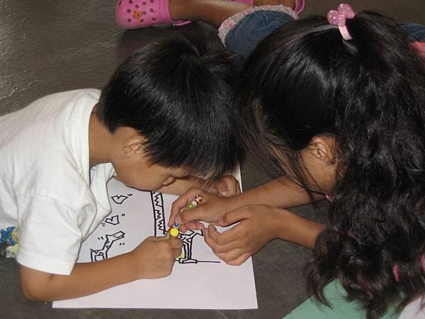 2007.10.14德國文化中心畫畫