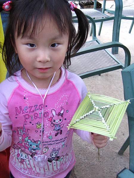 2007.11.24.佳拉窯 還有四方形的小雨傘喔!